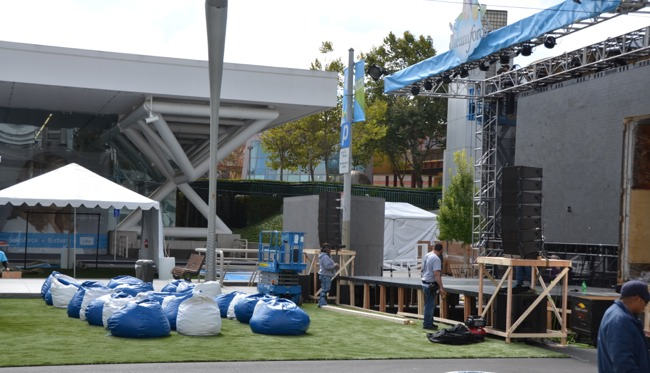 Bean Bag Seats Dreamforce