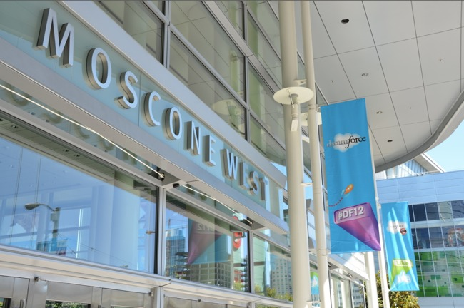 Moscone Dreamforce pic 6