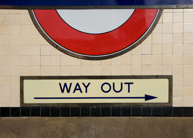 Mind the Gap Way Out Classic